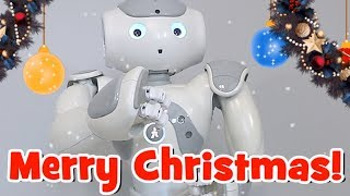 NAO Robot - Night Before Christmas - Story Time!