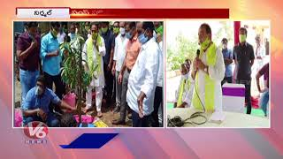 Minister Indrakaran Reddy Tour In Siddapur, Nirmal | V6 News