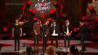 [HD] One Direction - Midnight Memories -  X Factor USA 2013 Finale
