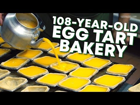 108-Year-Old Egg Tart Bakery Shop In Singapore: Tong Heng