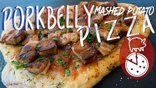 Best Pork Belly Pizza | SAM THE COOKING GUY 4K