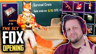HIDDEN LEGENDARIES! THE SLY FOX CRATES & A SNEAKY FINISH!
