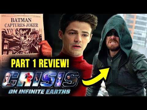 We NEED to Talk About THAT ENDING! - Crisis On Infinite Earths Part 1 REVIEW