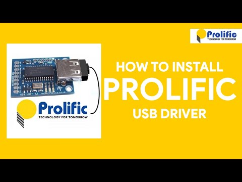 How To Install Prolific USB Driver - [romshillzz]