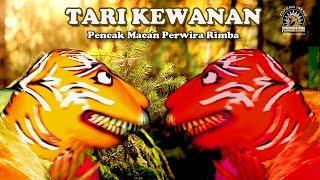 Gambar cover Perwira Rimba Tari kewanan Pencak macan