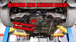 Making Our Honda Minivan ALL WHEEL DRIVE! (Full Process)