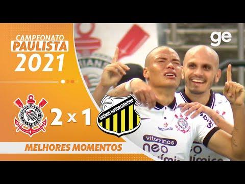 Vídeo  / Corinthians 2 x 1 Novorizontino - Paulistão 2021!