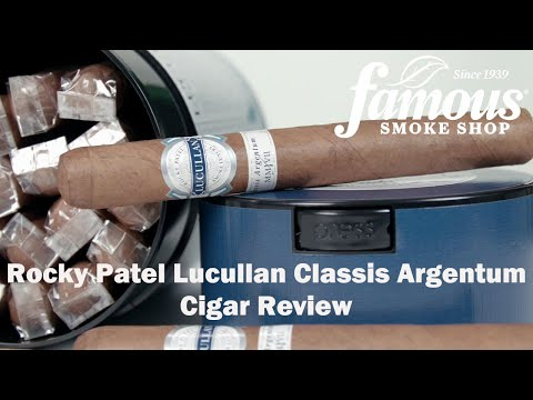 Lucullan Classis Argentum by Rocky Patel video