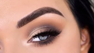 EASY Everyday Smokey Eye Makeup Tutorial   ABH Modern Renaissance Palette