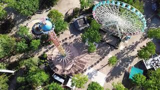 Drone Flight: Prospertown Lake & Six Flags Great Adventure (Jackson, NJ)