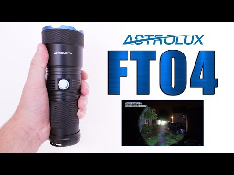 Astrolux FT04 SST40-P2 review