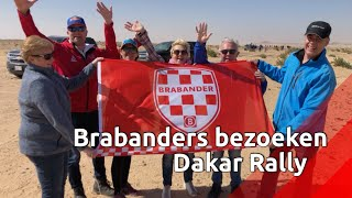 Brabantse fans genieten in Saoedi-Arabië van Dakar Rally.