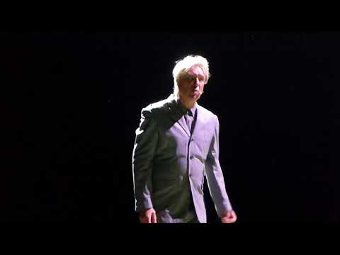 """David Byrne , """"  Once in a Lifetime """" Aug 11, 2018  Rose Music Center , Huber Heights, Ohio  live"""