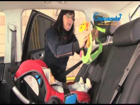 accesorio espejo retrovisor para viajar en auto con tu bebé