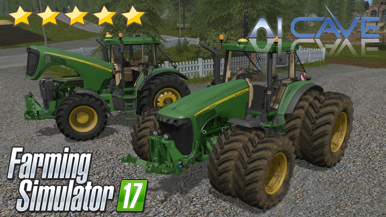 john deere 8020 serie mod farming simulator 17. Black Bedroom Furniture Sets. Home Design Ideas