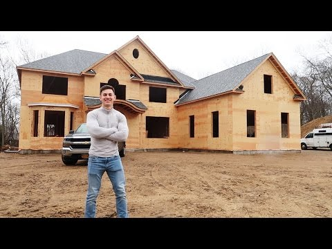 BUILDING MY DREAM HOUSE!!