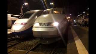 preview picture of video 'Arrivée à Paris Gare de Lyon du TGV Lyria Lausanne - Paris'