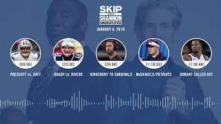 UNDISPUTED Audio Podcast (01.09.19) with Skip Bayless, Shannon Sharpe & Jenny Taft | UNDISPUTED