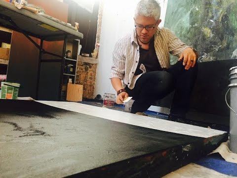 Above & Below. Sergio Gomez New Paintings Teaser