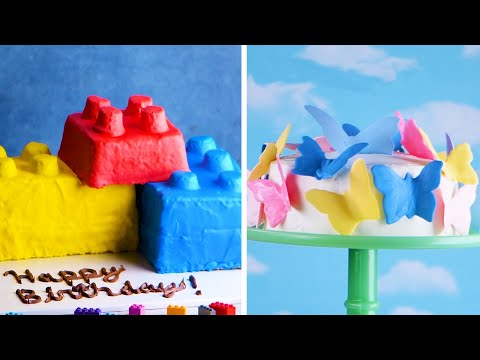Play with Your Food! 7 Easy Cakes for Kids!   Delicious Cake Recipes by So Yummy