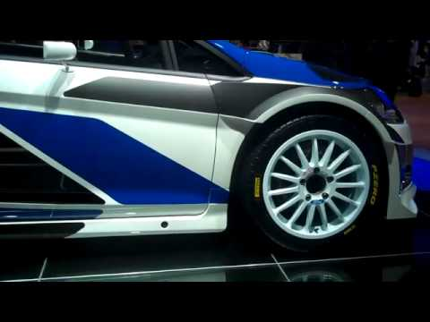 Ford Fiesta RS WRC at Paris Motor Show