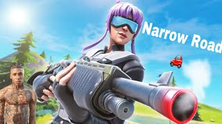 Narrow Road🚗 Fortnite montage + Console highlights (Ps4)
