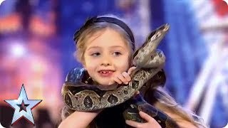 Poetry with a HUGE COBRA?! | Britain's Got Talent - Video Youtube
