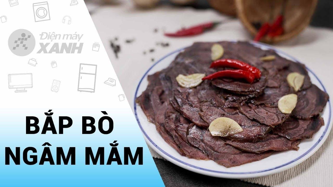 [Video] Cách làm bắp bò ngâm nước mắm đậm đà cho ngày Tết cực dễ làm