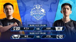 TRỰC TIẾP: FAPTV vs HTVC IGP GAMING - Đấu Trường Danh Vọng Mùa Đông 2019