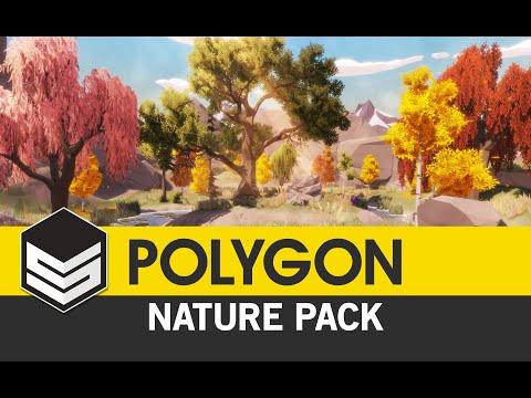 POLYGON - Nature Pack Trailer 4k - synty studios,Bestofclip net