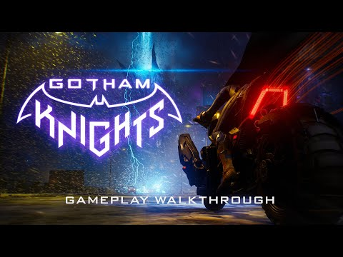 Première vidéo de gameplay de Gotham Knights