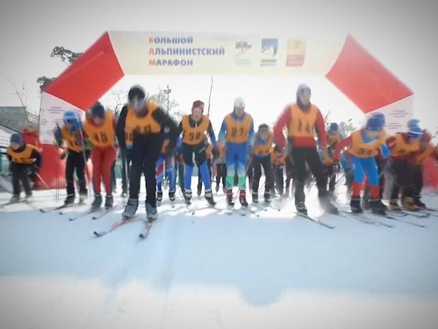 Ангарск на лыжах!