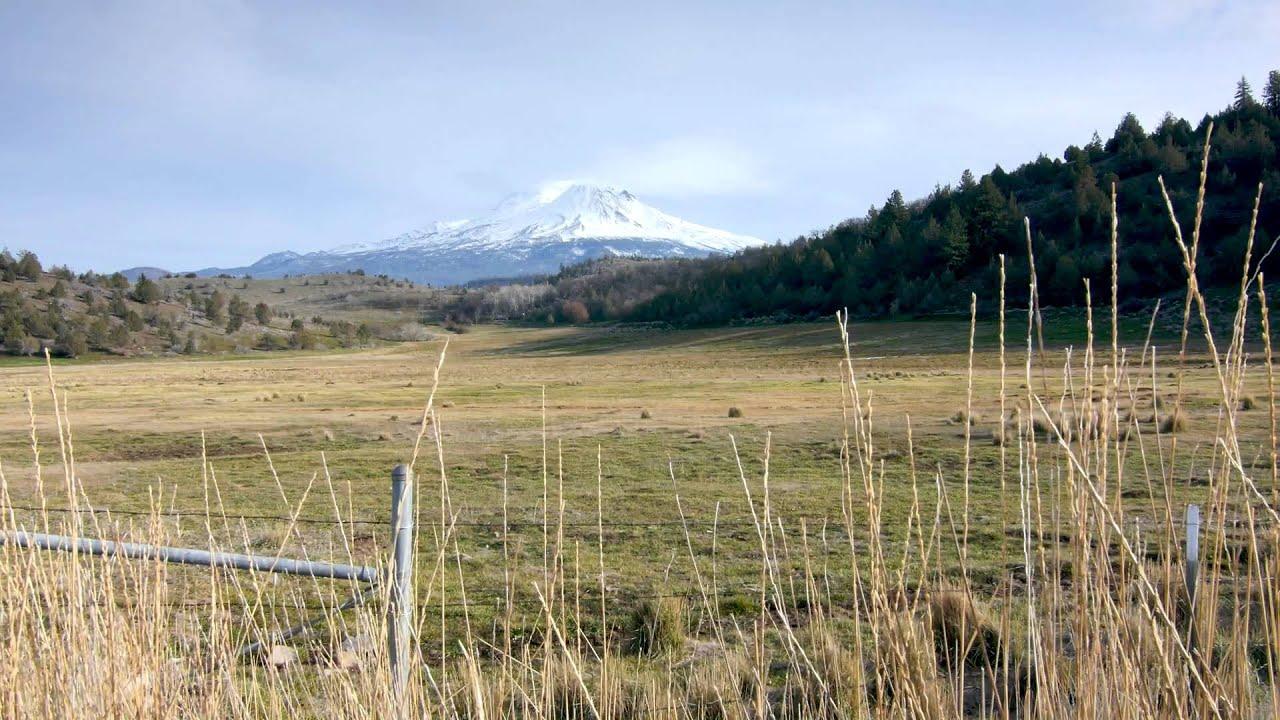 Mt Shasta with slider
