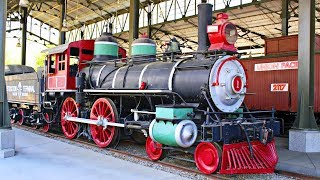 Railway Vehicles Fun Trains for Kids Travel Town Railroad Train Cars Museum for Children & Toddlers