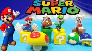 New Super Mario Bros Play Doh Surprise Toys Unboxing Action Figures Video Juguetes De Mario Bros