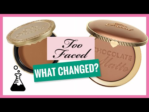 New VS Old Too Faced Chocolate Bronzer | Chemist Reviews Makeup
