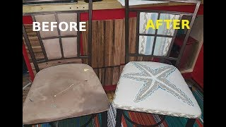 From Trash to Treasure/ Episode 2  **Pier 1 Metal chair Makeover