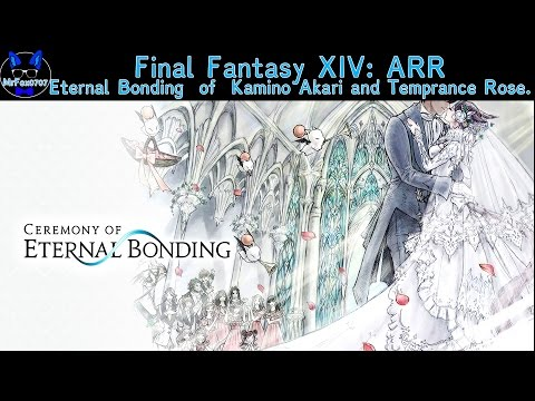 Final Fantasy XIV-The Eternal Bonding of Kamino Akari & Temperance Rose
