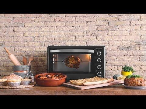 Horno de sobremesa Bake'n'Toast 750 Gyro Cecotec 2000W
