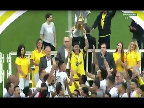 Corinthians recebe troféu do heptacampeonato brasileiro