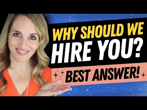 , title : 'Why Should We Hire You Interview Question - BEST Sample Answer