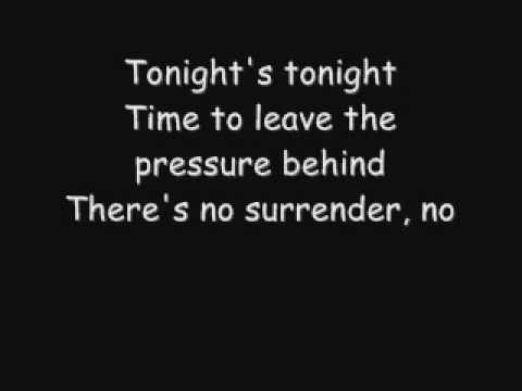 Kane - No Surrender {lyrics}
