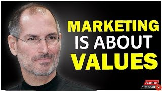 Steve Jobs - Marketing is About Values (THINK DIFFERENT)