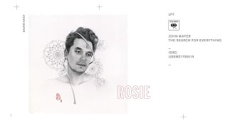 John Mayer   Rosie (Audio)