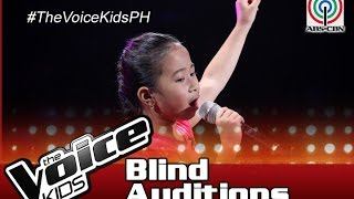 """The Voice Kids Philippines 2016 Blind Auditions: """"Lupa Man Ay Langit Na Rin"""" by Saisha"""