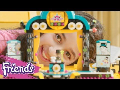 Vidéo LEGO Friends 41368 : Le spectacle d'Andréa