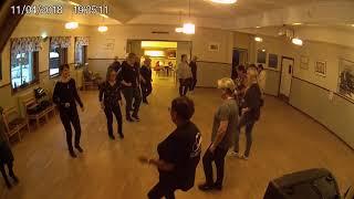 Kursavslutning VT -18 / Söderhamns linedancers/ Pat´s Ocoberfest polka