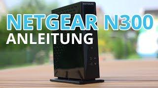 Netgear N300 einrichten - Einfache Anleitung für WNR2000