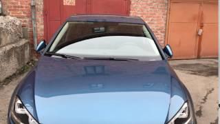 Полные зеркала со складыванием,подсветкой и памятью в правом зеркале. VW Golf 7.