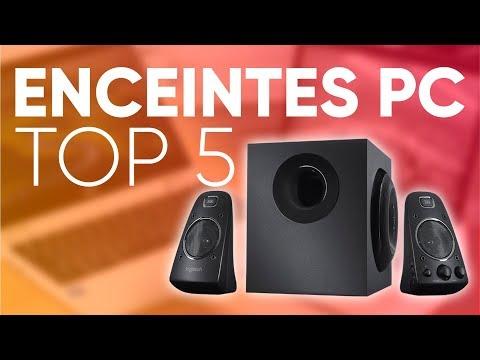 TOP5 : MEILLEURES ENCEINTES PC (2018)